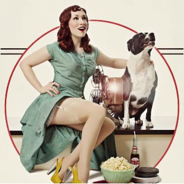 All images in this post courtesy of Pinups for Pitbulls and Celeste Giuliano Photography