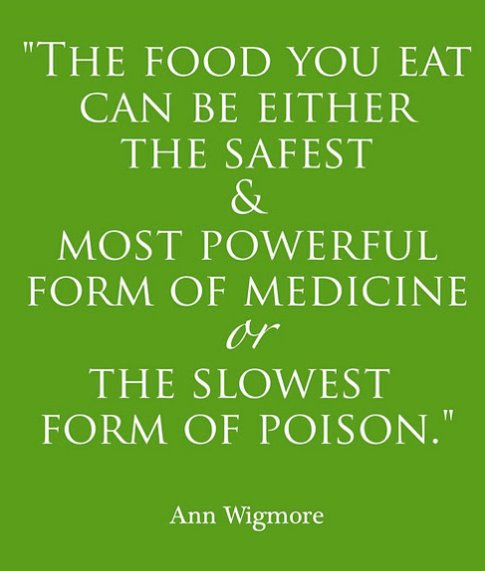 food is medicine or poison